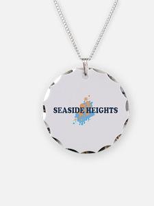 Sandy Hook NJ - Seashells Design Necklace