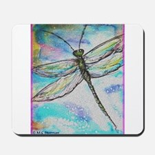 Dragonfly, colorful, Mousepad