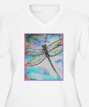 Dragonfly, colorful, T-Shirt