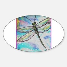 Dragonfly, colorful, Decal