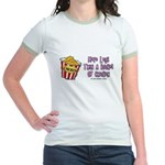 Legs Bucket of Chicken Jr. Ringer T-Shirt
