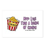 Legs Bucket of Chicken Postcards (Package of 8)