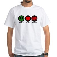 Peace Love Wales Shirt