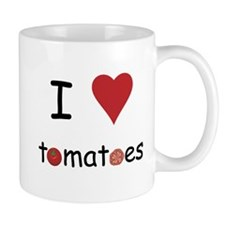 I Love Tomatoes Mug
