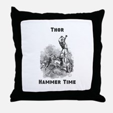 Thor, Hammer Time Throw Pillow