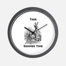 Thor, Hammer Time Wall Clock