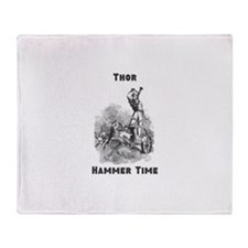 Thor, Hammer Time Throw Blanket