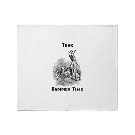 Thor, Hammer Time Throw Blanket