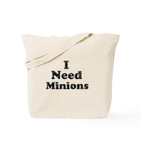 Vintage I Need Minions Tote Bag