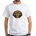 Compton Fire Department White T-Shirt
