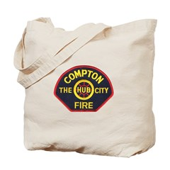 Compton Fire Department Tote Bag