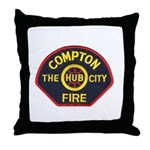 Compton Fire Department Throw Pillow