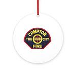 Compton Fire Department Ornament (Round)