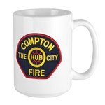 Compton Fire Department Large Mug
