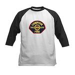 Compton Fire Department Kids Baseball Jersey