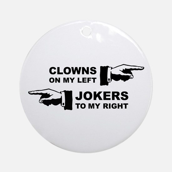 Clowns & Jokers Ornament (Round)