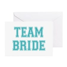 Team Bride Greeting Cards (Pk of 10)