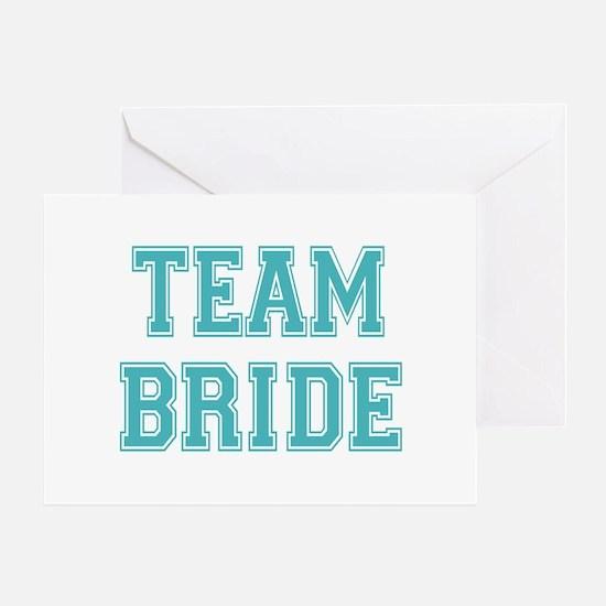 Team Bride Greeting Card