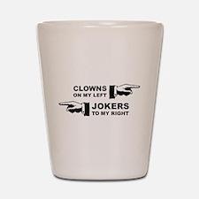 Clowns & Jokers Shot Glass