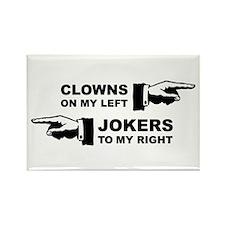 Clowns & Jokers Rectangle Magnet