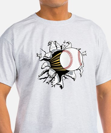 Baseball Burster T-Shirt
