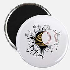 """Baseball Burster 2.25"""" Magnet (10 pack)"""