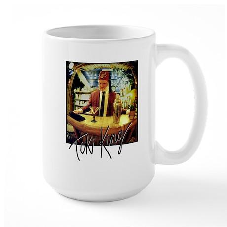 Tiki King at the 821 Bar Large Mug