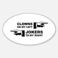 Clowns & Jokers Decal
