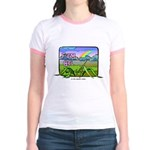 Farm Girl Rainbow Jr. Ringer T-Shirt