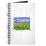 Farm Girl Rainbow Journal