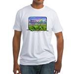 Farm Girl Rainbow Fitted T-Shirt