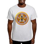 Gold-Red Goddess Pentacle Light T-Shirt