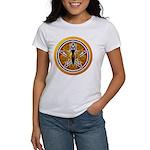 Gold-Red Goddess Pentacle Women's T-Shirt