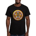 Gold-Red Goddess Pentacle Men's Fitted T-Shirt (da