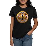 Gold-Red Goddess Pentacle Women's Dark T-Shirt