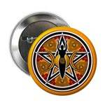 Gold-Red Goddess Pentacle 2.25