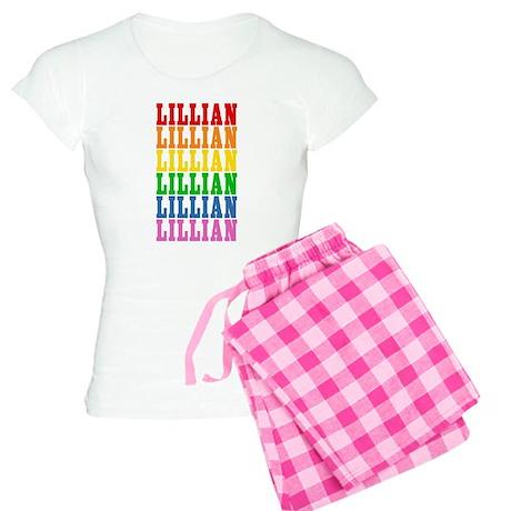 Rainbow Name Women's Light Pajamas