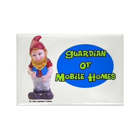 Guardian Of Mobile Homes Rectangle Magnet