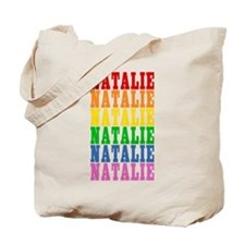 Rainbow Name Tote Bag