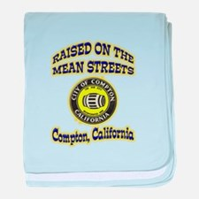 Mean Streets of Compton baby blanket