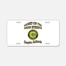 Mean Streets of Compton Aluminum License Plate
