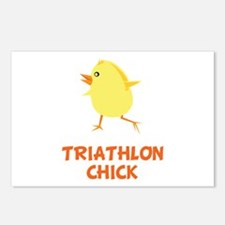 Triathlon Chick Postcards (Package of 8)