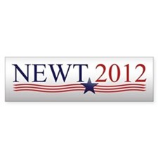 Newt Gingrich 2012 Car Sticker