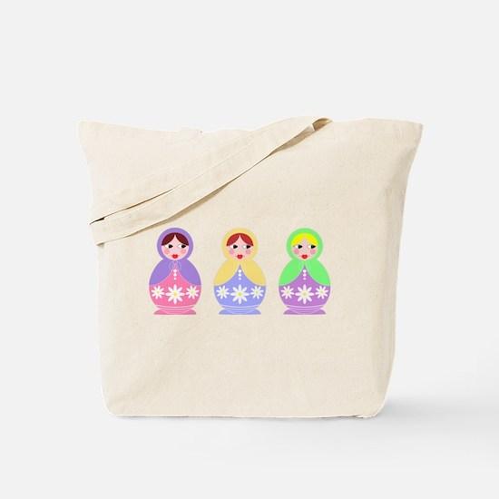 3 Matryoshka Tote Bag