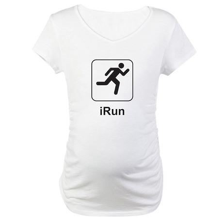 iRun Maternity T-Shirt