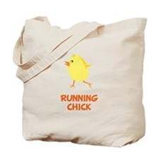 Running Chick Tote Bag