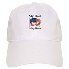 My Dad is my hero Baseball Cap