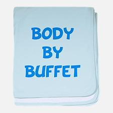 Body By Buffet baby blanket