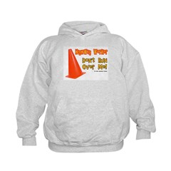 Highway Worker Run Over Me Hoodie