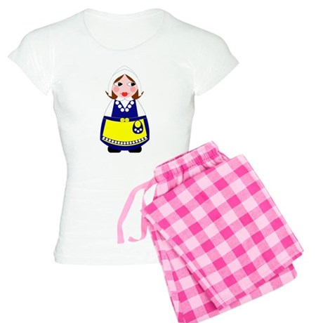 Swedish Matryoshka-style Women's Light Pajamas
